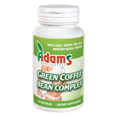 Green Coffee Bean Complex 30 Capsule Adams