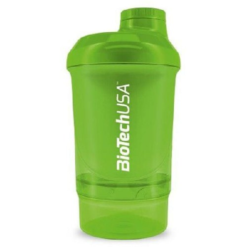 Shaker Wave Green 600ml imagine produs la reducere