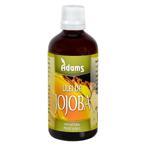 Ulei De Jojoba 100ml Adams