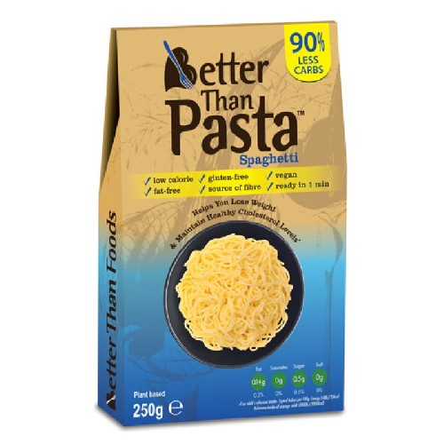 Spaghete Konjac Fara Clatire 250g Better Than Foods vitamix poza