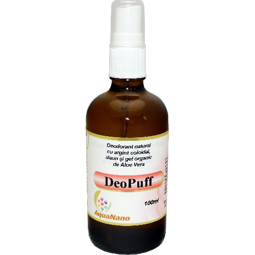 Deodorant Spray Deopuff 100ml Aghoras vitamix poza