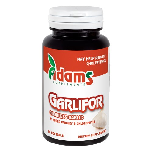 Garlifor 500mg 60cps Adams Supplements imgine