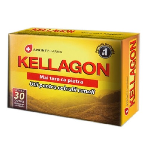 Kellagon 30cps Sprint Pharma imagine produs la reducere
