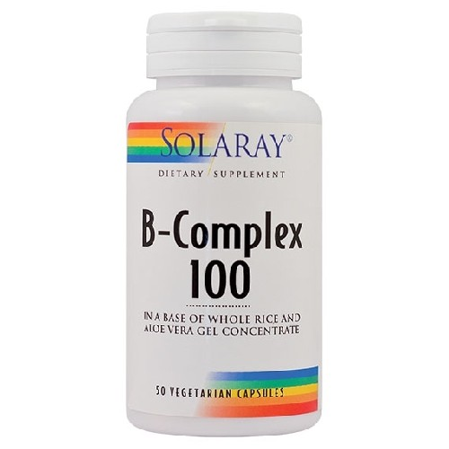 B-complex 100mg 50cps Secom vitamix poza