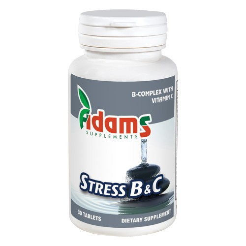 Stress B&C 30 tablete Adams Supplements