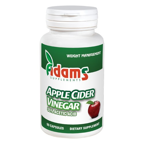 Apple Cider Vinegar 90 capsule Adams Supplements imgine